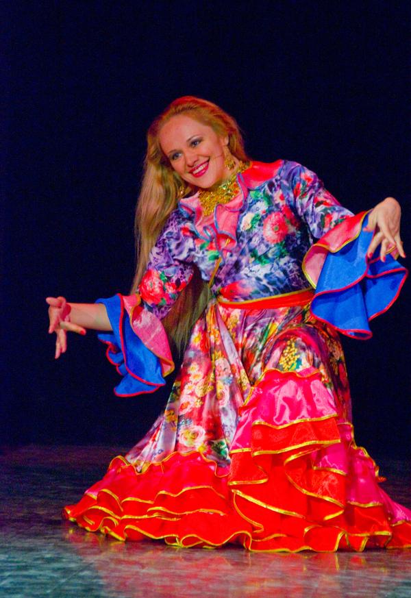 Преподаватели цыганского танца. Ольга Колмакова
