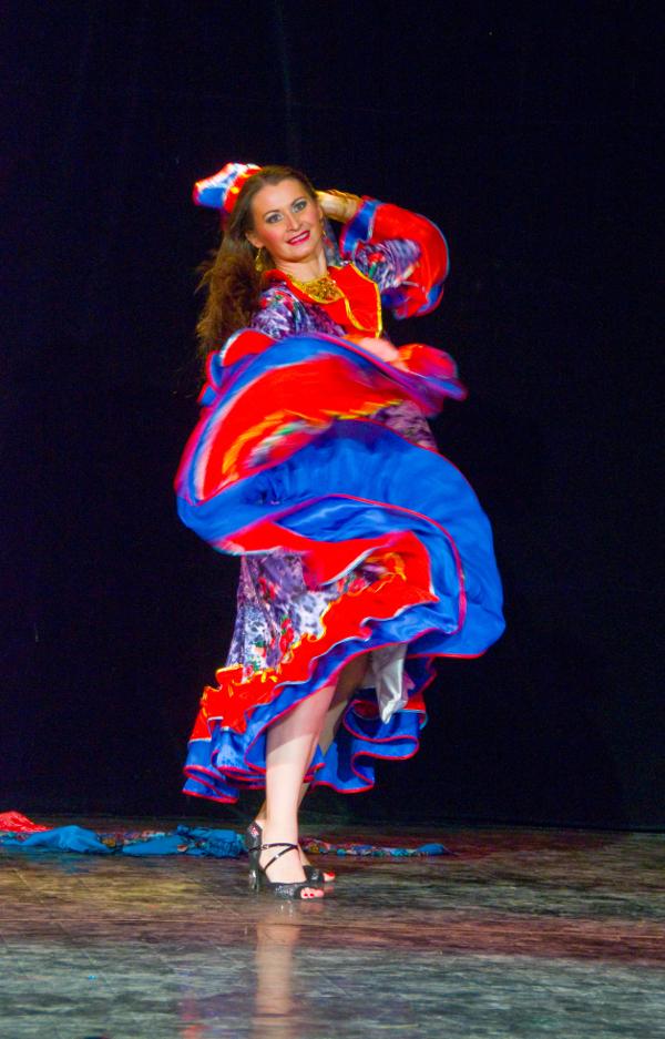 Преподаватели цыганского танца. Евгения Ермакова